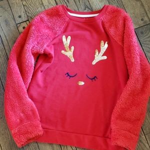 Cute and comfy reindeer sweater